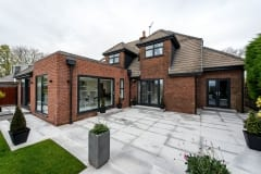 Aluminium Windows and Doors for Red Brick Home