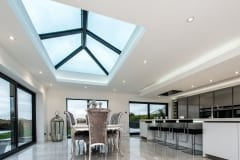 Flat Roof Extension with New Atlas Lantern