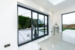 Energy-efficient Powder-coated Aluminium Doors