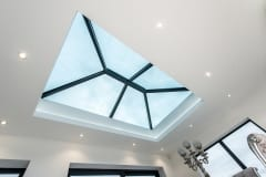 Glass and Aluminium Lantern Roof by Atlas