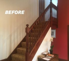 hallway-renovation-new-glass-staircase-velux-window-padiham-whalley-clitheroe