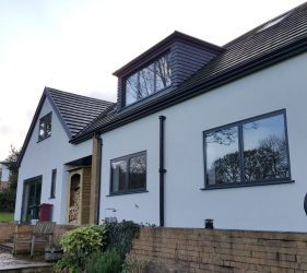 new-grey-fascias-guttering-installation-house-renovation-window-installers-blackpool-thornton-fleetwood-poulton