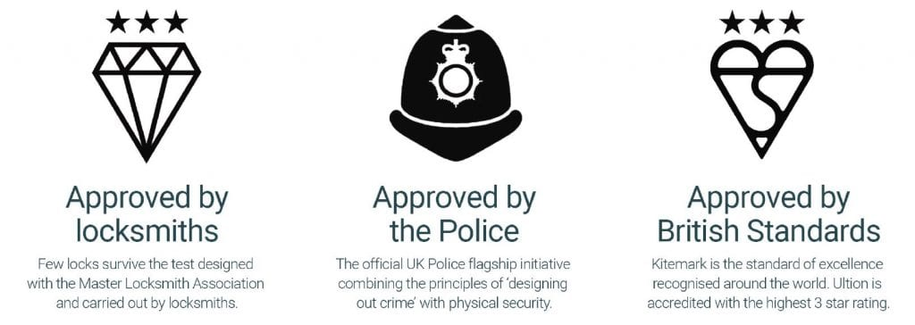 ultion-police approved british standards